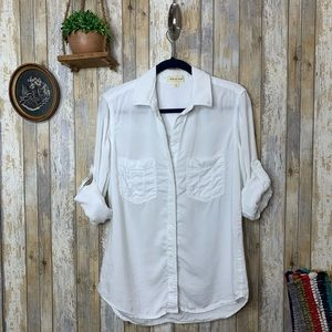 Anthro Cloth & Stone 'Lindsey' Buttondown Top